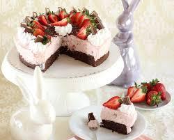 Hochzeitstorte Mit Erdbeeren Und Limetten Zarte Erdbeer Yogurette Torte Mit Mandel Nuss Boden Rezept Und