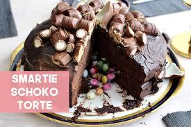 smartie schoko torte