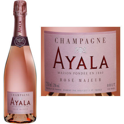 Ayala Brut Rose Majeur Champagne, France - 750 ml bottle