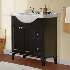 bathroom vanity from menards not too small just right http