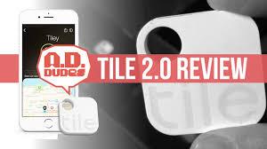 the dudes review tile 2 0 tracker app walkthrough