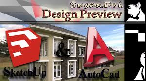 Desain Rumah | Home Design Preview In Sketchup And AutoCAD #1 ... Dazzling Design Floor Plan Autocad 6 Home 3d House Plans Dwg Decorations Fashionable Inspiration Cad For Ideas Software Beautiful Contemporary Interior Terrific 61 About Remodel Building Online 42558 Free Download Home Design Blocks Exciting 95 In Decor With Auto Friv Games Loversiq Unique