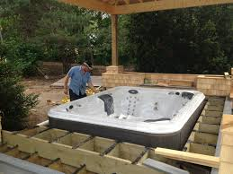 Patio Design Ideas With Hot Tub Patio Ideas With Firepit And Hot ... Hot Tub On Deck Ideas Best Uerground And L Shaped Support Backyard Design Privacy Deck Pergola Now I Just Need Someone To Bulid It For Me 63 Secrets Of Pro Installers Designers How Install A Howtos Diy Excellent With On Bedroom Decks With Tubs The Outstanding Home Homesfeed Hot Tub Pool Patios Pinterest 25 Small Pool Ideas Pools Bathroom Back Yard Wooden Curved Bench