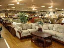 Shopping at a furniture factory outlet