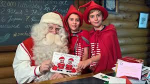Carta De Navidad De Santa Claus Para Niños Plantilla Layot
