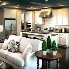 Kitchen And Living Room Design Open Concept Ideas Combination