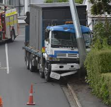 100 Truck Wrecks Videos Power Back On After Truck Crashes Into Pole Otago Daily Times