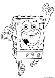 Coloring Pages Spongebob Work Outf537 Print Download