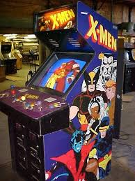 4 Player Arcade Cabinet Dimensions by X Men Videogame By Konami