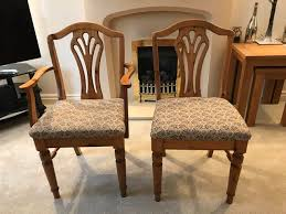 Ducal Dining Table And Six Chairs For Sale In Wolverhampton South Staffordshire