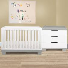 Babyletto Skip Changer Dresser Chestnut And White by Baby Cribs Best Convertible Cribs Cribs Made In Canada Kidz
