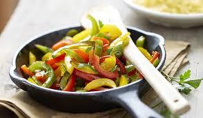 cuisiner les poivrons verts trio de poivrons surgelés les légumes picard