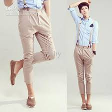 2018 2012 New Fashion Korea Style Mens Casual Pants Slim Leisure Shorts 11301 K636 P55 From Siby 2524