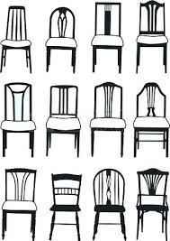 1930s Furniture Styles Different Various Names Of Perfect Dining Room Chairs