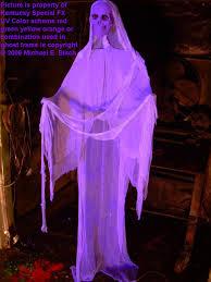Halloween Ghost Hologram Projector by Hanging Halloween Floating Ghost Prop Purple Skeleton In The Www