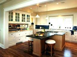 L Shaped Kitchen Layout Island Full Image For With