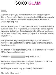 Regional] Soko Glam Now Charges 20% Tax + Duties For All ... Where To Buy Korean Skincare Products In India Some Tips Bebe Birthday Coupon Code Pizza Hut Factoria Soko Glam Coupon Stofkbeauty Awards Glam 10step Korean Skin Care Review Inspired By At Fattes Pizza Its Always Buy 1 Get Free Black Friday 30 Off Sitewide Nov 21 Great Coupons Bed Bath And Beyond Croscill Baker Seeds Promo 2019 Kings Dominion Codes The Rewards Program Exclusive Member Offers Fanduel Sportsbook College Southern Sarms