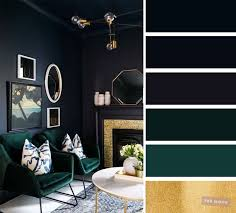 the best living room colors blue green gold