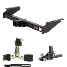 CURT Trailer Tow Package W/ Ball Mount W/ 5 3/4