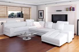 ce canapé d angle cuir contemporain conférera à votre salon