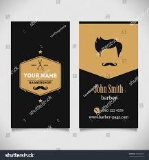 Barber Shop Hair Design Ideas by Hair Salon Barber Shop Business Card Stock Vector 199602692