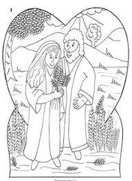 Boaz En Ruth Gaan Trouwen