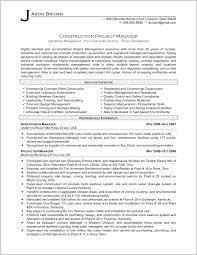 100 Assistant Project Manager Resume Example Construction
