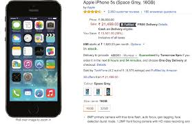 iPhone 5s Prices ficially Cut to Rs 24 999 in India