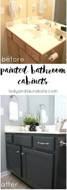 DIY Painted Bathroom Cabinets Its Super Simple To Achieve In This How With Homemade