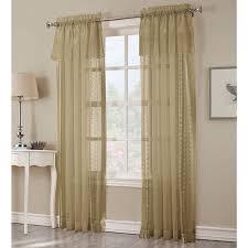 Boscovs Window Curtains by Bonnie Sheer Lace Trim Attached Valance Curtains Boscov U0027s