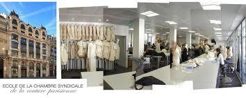 chambre syndicale de la haute couture parisienne venez étudier à l école de la chambre syndicale de la couture