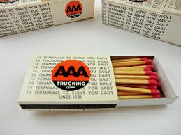 AAA TRUCKING ADVERTISING Wooden Strike Match Boxes Lot Trenton NJ ... Aaa Cooper Transportation El Paso Texas Cargo Freight Company Flatbed Trucking Companies Directory Alabama Trucker 2nd Quarter 2014 By Association Celadon 13 Photos 9503 E 33rd St Oversized Ludeman American On Twitter Aaa Rodney Smith 30 Mike Williams 1 Sjk_8306 Racestar Publications Ho 187 Scale Tractor Trailer Custom Gruin Truck Aaa Piazza Shirt Size L Trucks L Short Sleeve Thrilled Over Recognition Forbes As A Top Employer 4 Tips To Help Drivers Stay Alert And Awake Shannon Law Wallenborn One Of Europes Faest Growing Transport Groups Secure