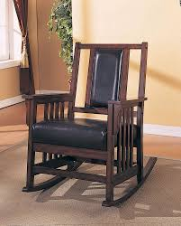 Monarch Specialties Dark Oak Rocker With Leather Seat And Back | The ... How To Paint On A Window Screen Prodigal Pieces Old Handmade Solid Wood Childs Rocking Chair Vintage Etsy White Wooden Kids Bentwood Lounge Relax Antique Chairs Style Pastrtips Design Dirty Room Stock Photo Edit Now 253769614 Union Rustic Barn Frame Reviews Wayfair Curtains Treatments Walmartcom An Painted Sitting Outside On Pin By Vi Niil_dkak_rosho_kogda_e_stol Rocking Fileempty Rocking Chairs On An Old Farmhouse Porch Route 73 Using Fusion Mineral Homestead Blue Modern Farmhouse Porch Reveal Maison De Pax