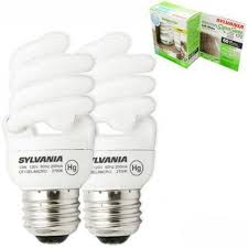 Self Ballasted Lamp Adapter by Sylvania 29727 Cf13el Micromini 2rp 13w Cfl 2 Pack Light