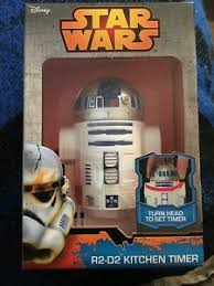 r2 d2 countdown timer with rotating wars kitchen