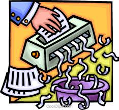 480x443 Paper Shredder Royalty Free Vector Clip Art Illustration Vc014734