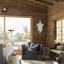 einrichten im chalet stil living at home