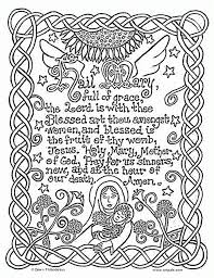 11 Pics Of Catholic Prayer Coloring Pages
