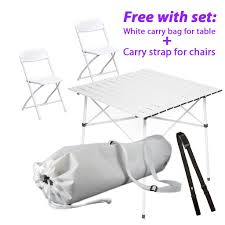 Folding Table, White Chairs & Transportation Kit For Diner En Blanc Gocamp Portable Folding Table Chair Set Outdoor Camping Pnic Bbq Stool Max Load 120kg From Xiaomi Youpin 10pack Advantage 5 Ft Round White Plastic 10dadycz152rgwgg Granite Chairs Transportation Kit For Diner En Blanc Beach Table And Chair Set Cosco 5piece Square Intellistage Lweight 4x8 Dj Platform Package With 30 Replace Your Old Folding Tables Chairs Ace Hdware On Hand Expand Modern Ding Phi Villa 3 Piece Pink Patio Steel Chairsmetal Bistro Fniture The Alzare Raising Coffee Lifetime 5piece Safe Foldinhalf