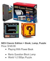 Super Mario Question Block Lamp Ebay by Nes Classic Edition Available Now From Thinkgeek With Details