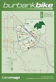 Halloween Town Burbank Hours by Burbank Bike Map Burbank Ca