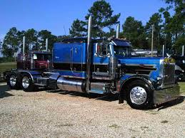 100 Hall Trucking Check Out Billy S 1986 Extended Hood Peterbilt 359