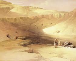100 In The Valley Of The Kings David Roberts Heroic Fantasy Art Egypt