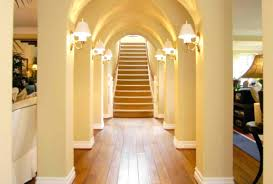 recessed wall lights for stairs lighting hallway pleasurable
