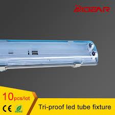 4ft t8 led 1 2m tri proof led fixture with 2pcs t8 led