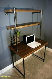 Industrial Pipe Table Computer Desk New Best Ideas On Coffee