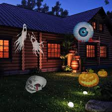 Outdoor Halloween Decorations Uk by Amazon Com Led Laser Christmas And Holiday Lights Projector For