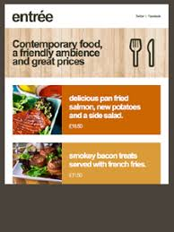 newsletter cuisine restaurant archives beautiful email newsletters