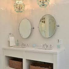 chandelier over bathroom vanity design ideas
