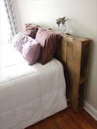 Charming Wood Pallet Headboard 40 Recycled Diy Ideas 99 Pallets